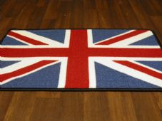 NO SLIP UNION JACK DOORMAT 50CMX80CM BEST QUALITY RETRO NON SLIP WASH R/W/B